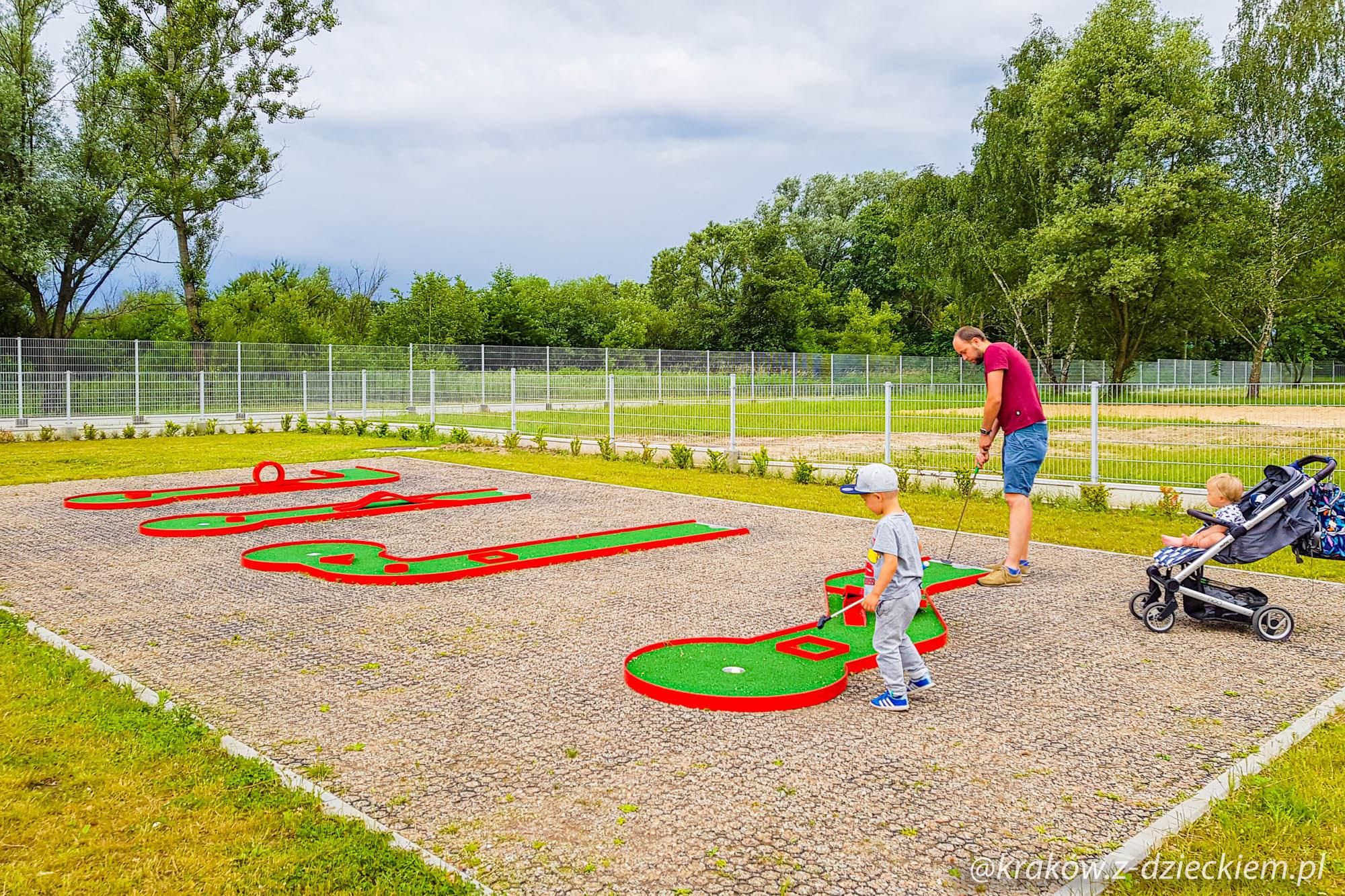 mini golf Dobczyce