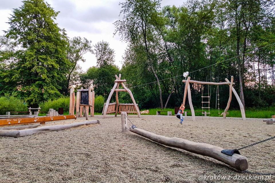plac zabaw w Dobczycach