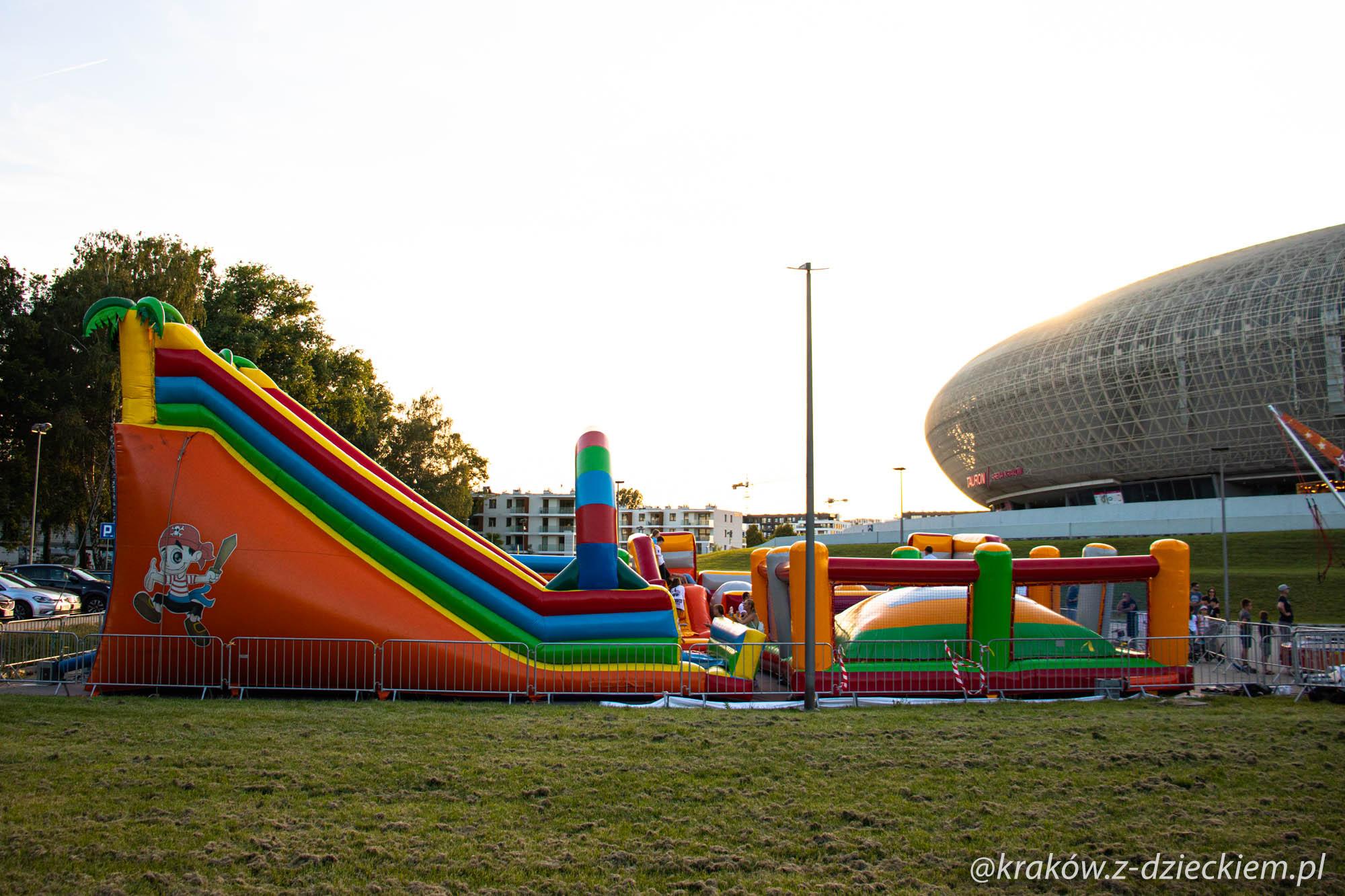 dmuchańce tauron arena Kraków