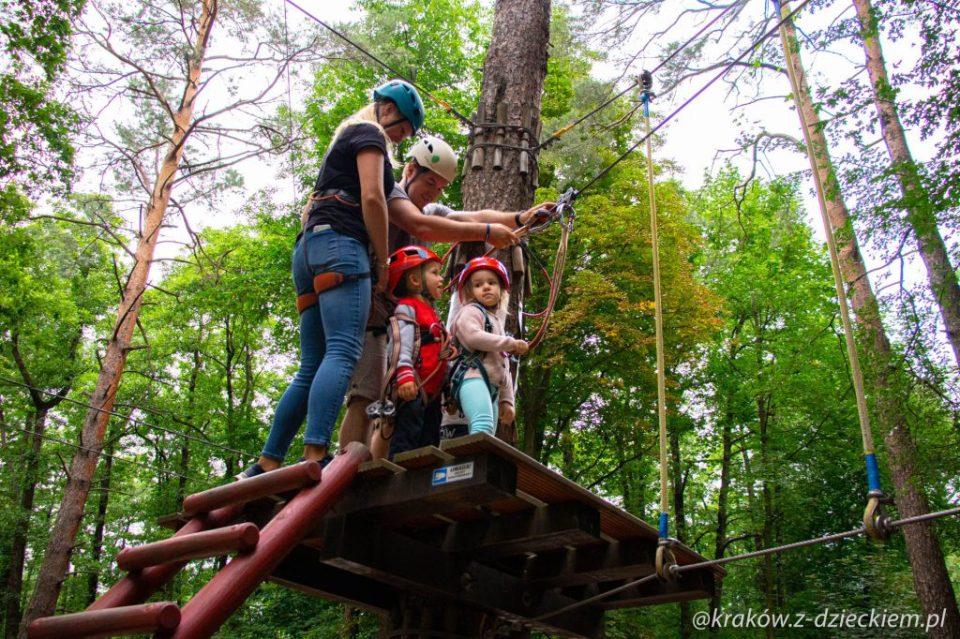 Park linowy Xtreme w Wieliczce
