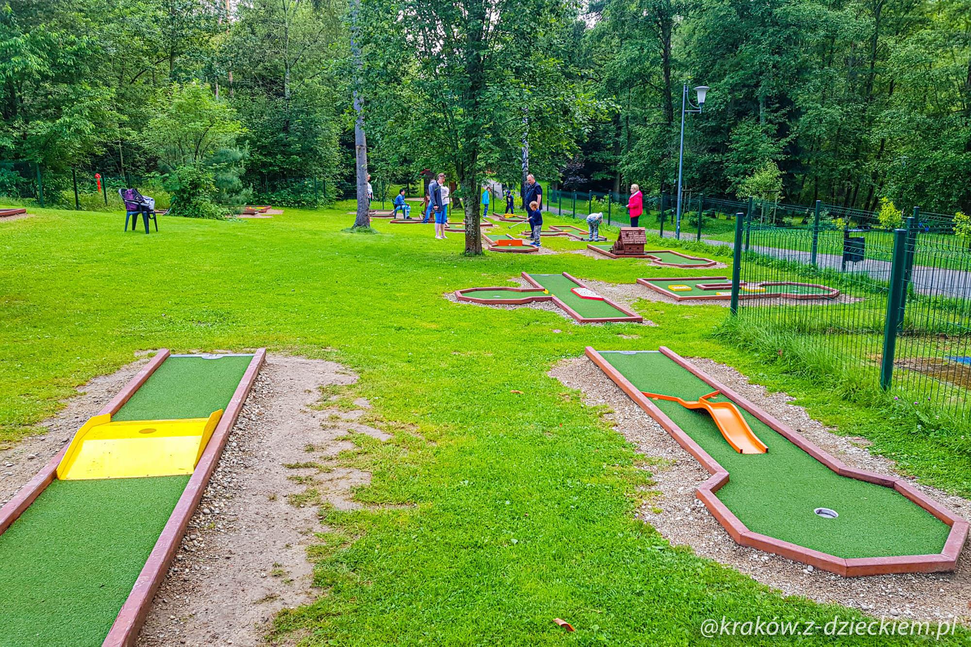 mini golf, Rabka-Zdrój