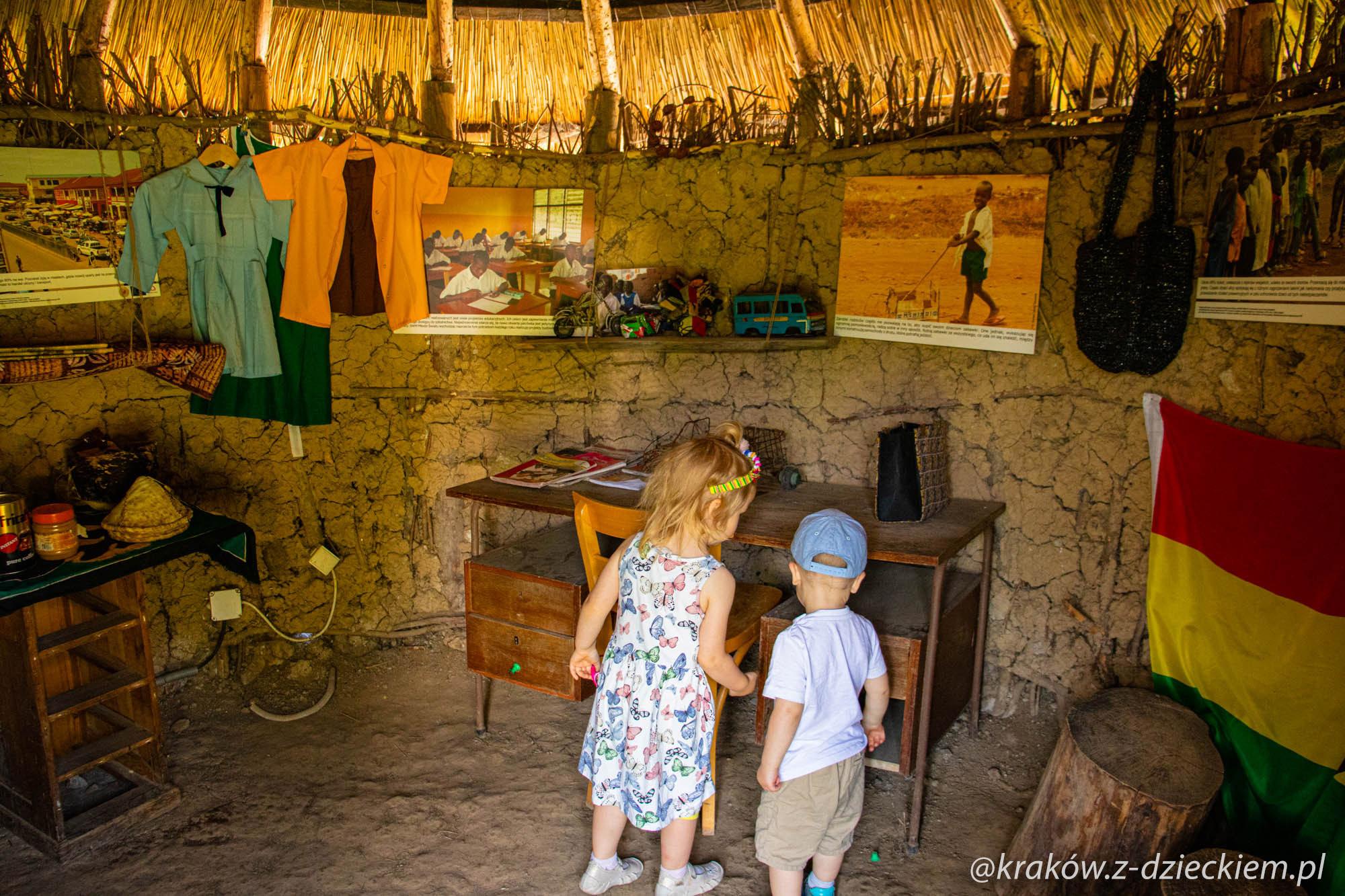ghański dom, wioski świata