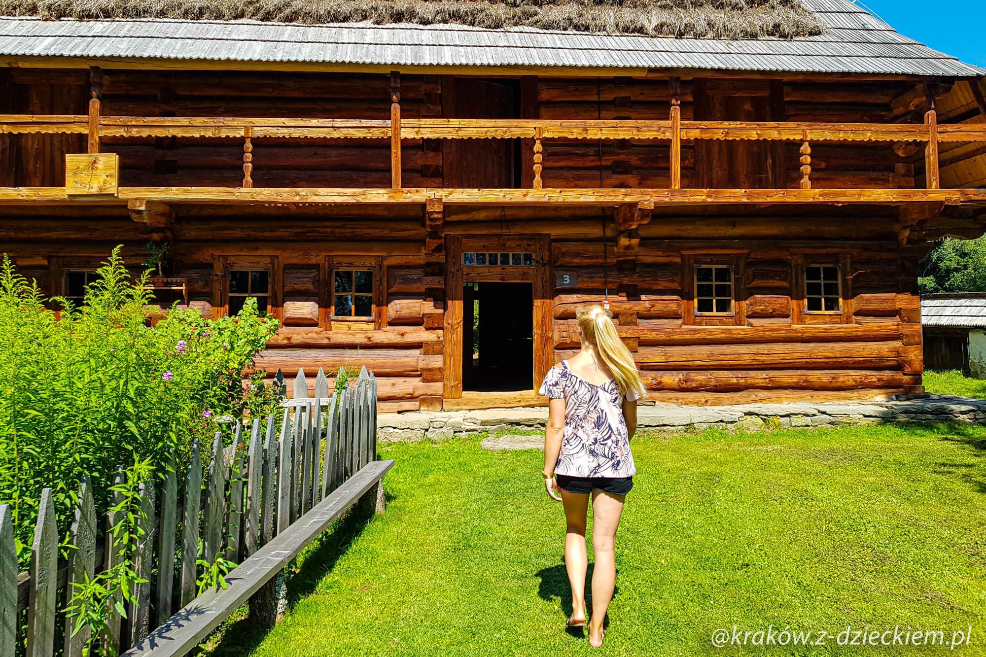 chaty, Orawski Park Etnograficzny
