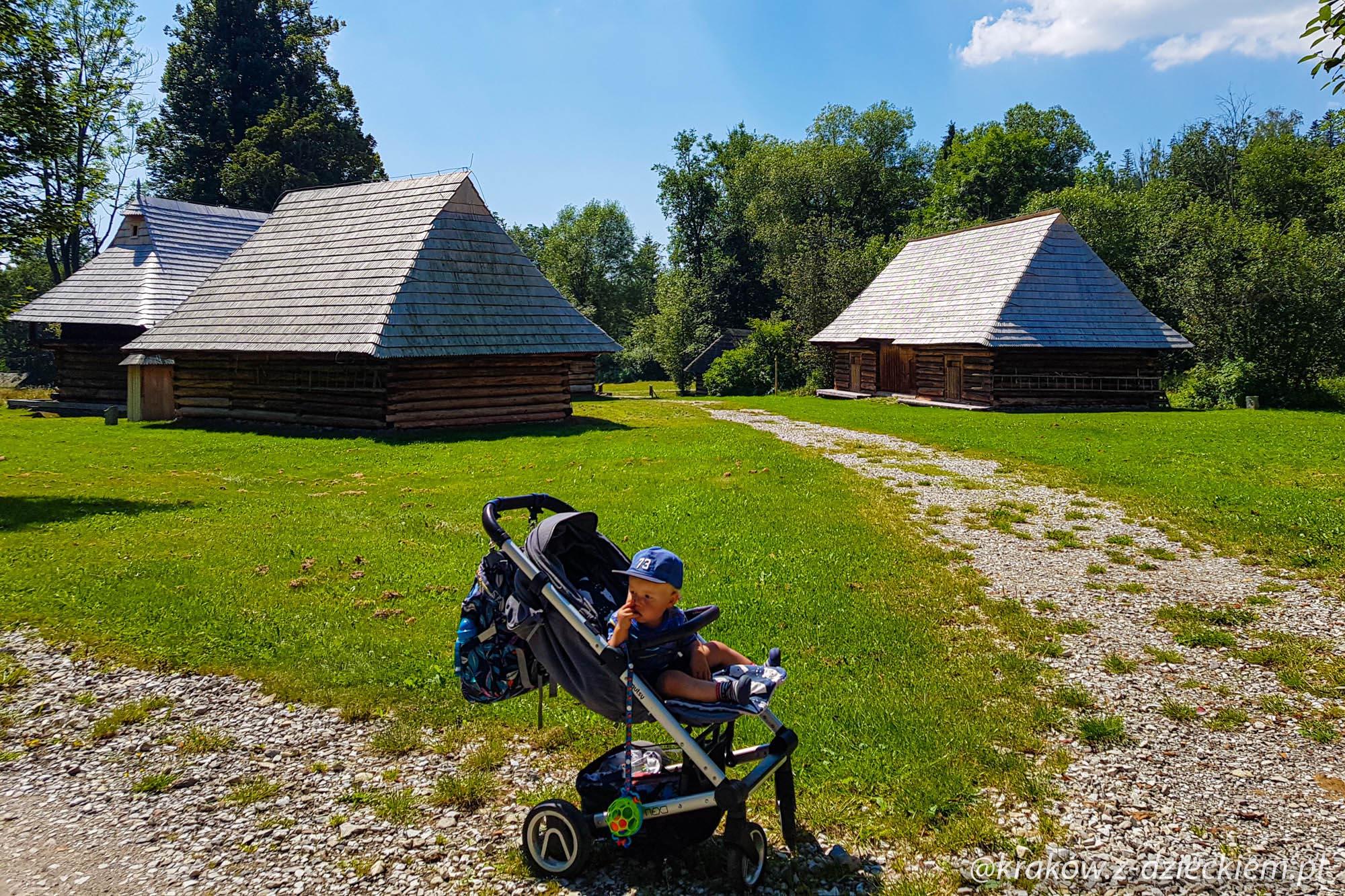 domki, Orawski Park Etnograficzny