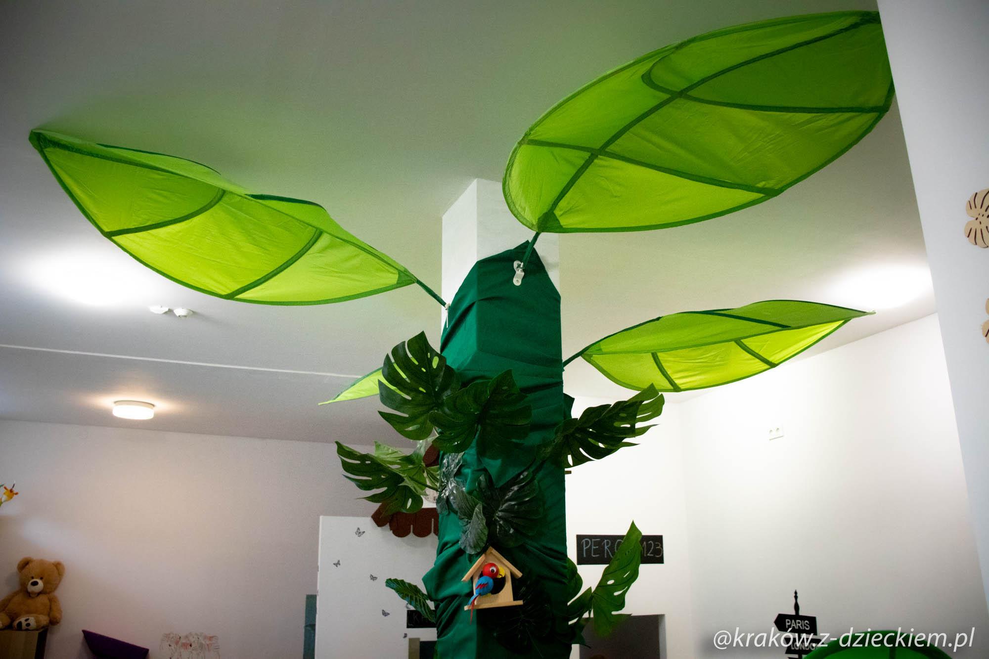 palma, Szpulka pod palmą