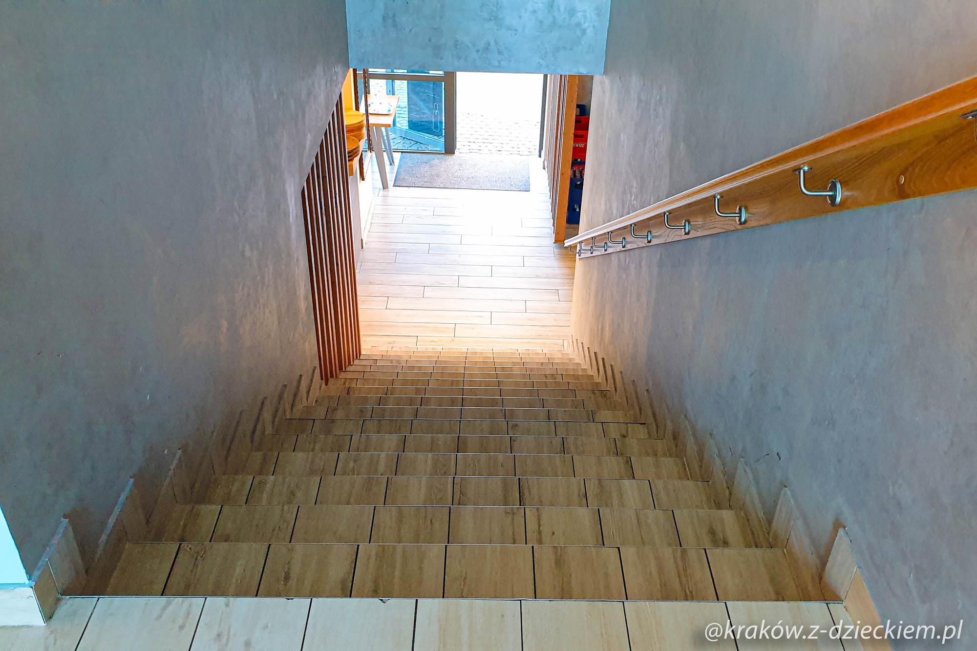 wesołe gary, schody