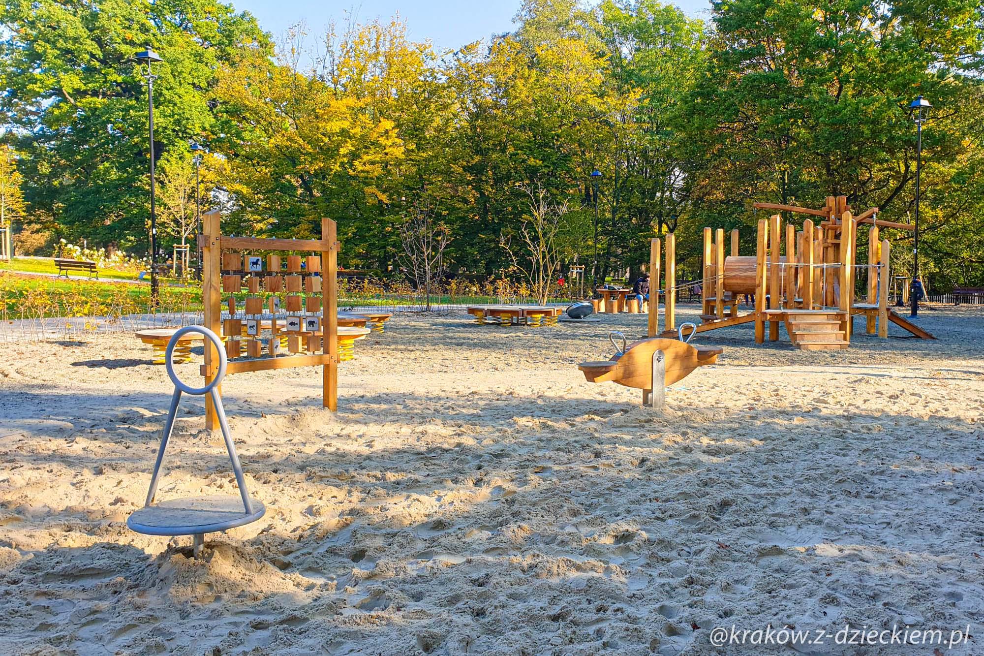 Park Jerzmanowskich - plac zabaw