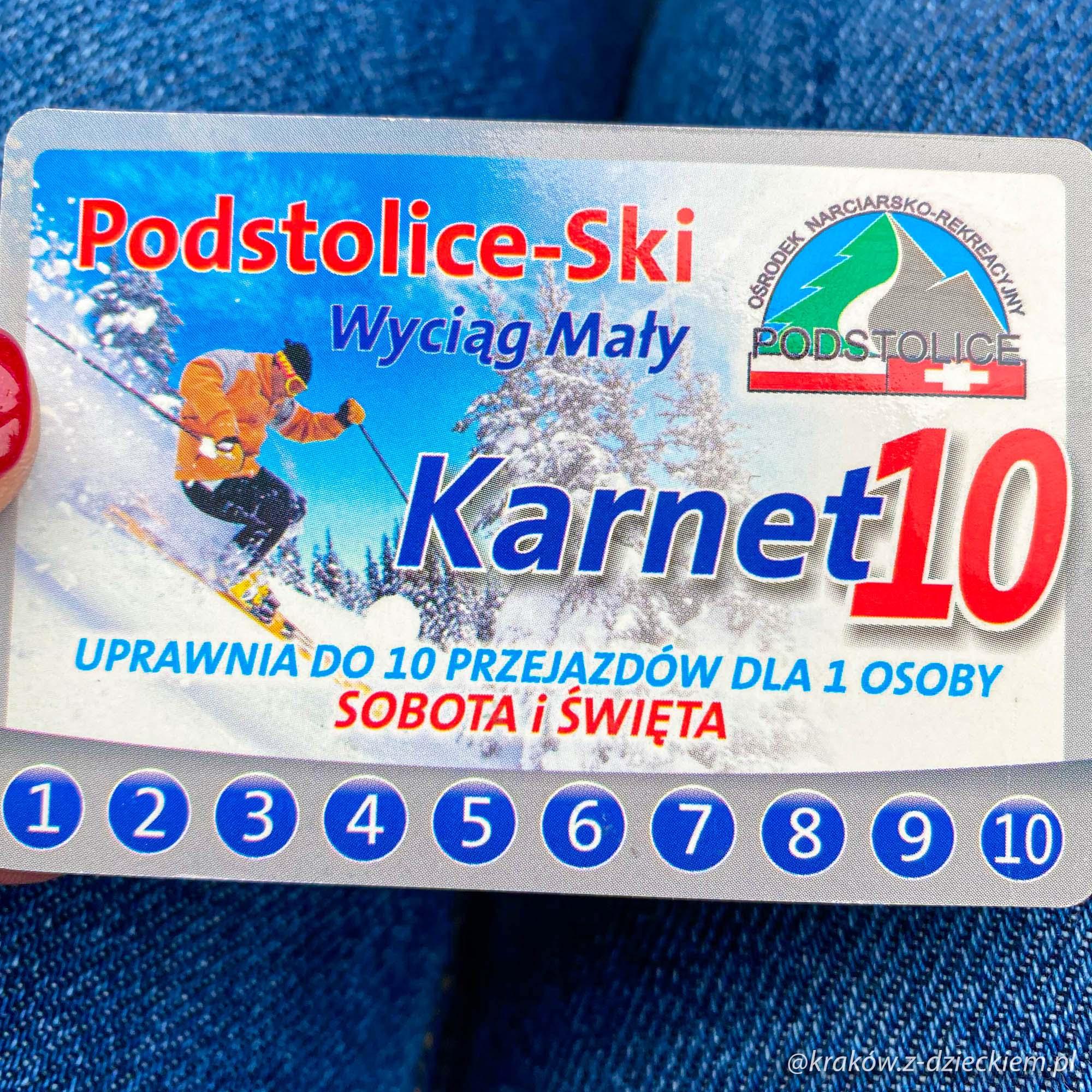 karnet Podstolice-Ski