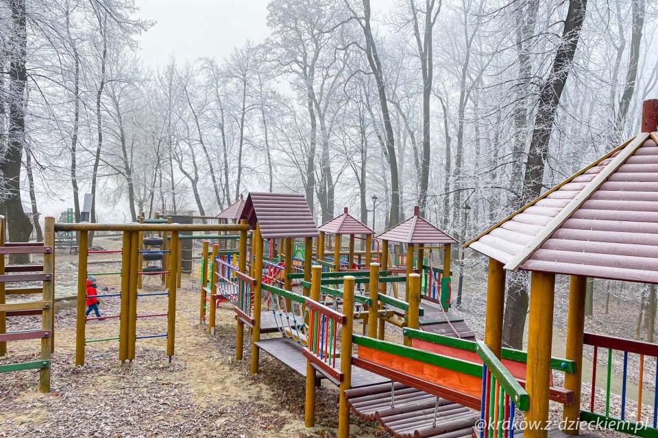 plac zabaw, park Uzbornia Bochnia