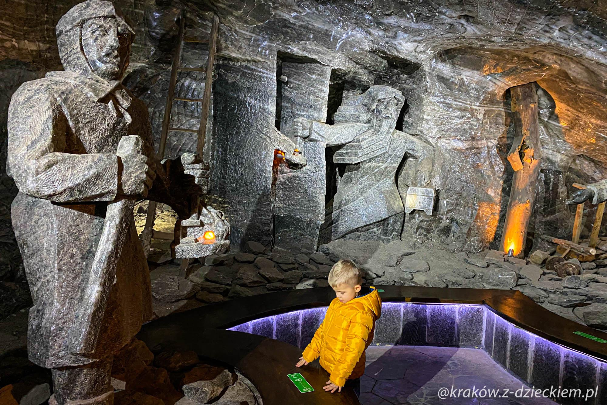 kopalnia soli z dzieckiem