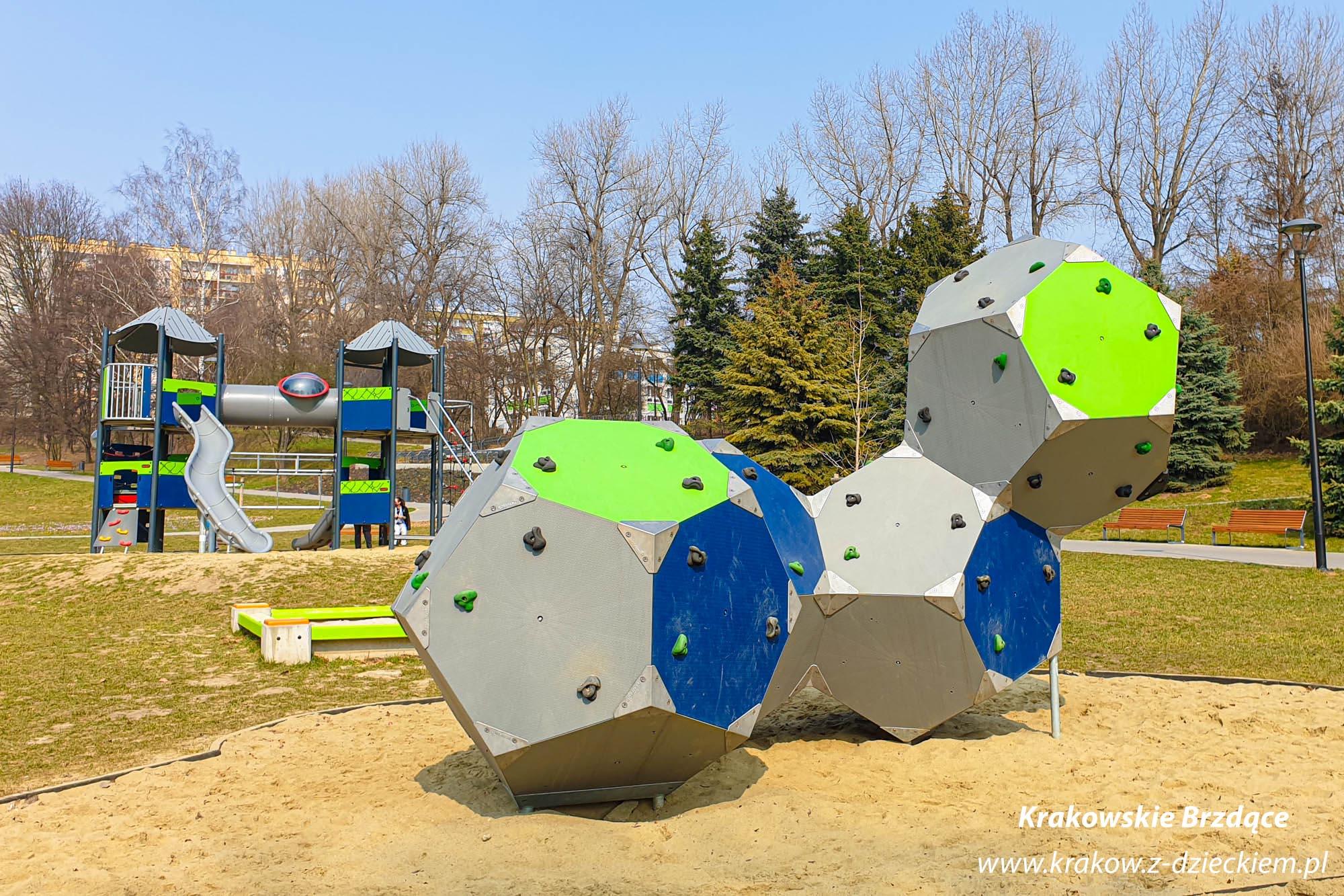 Park Tysiąclecia, plac zabaw