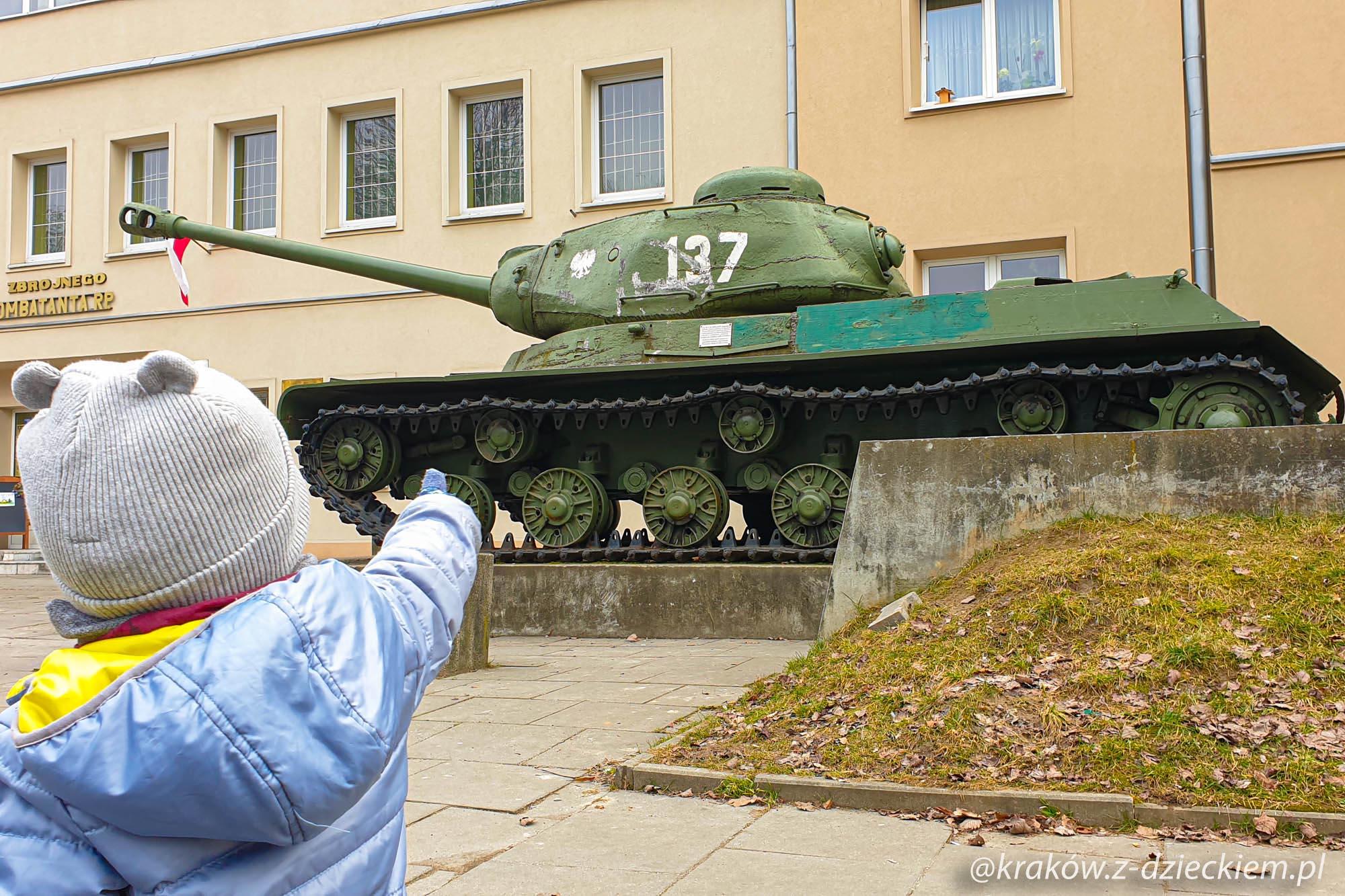 Muzeum Czynu Zbrojnego, czołg