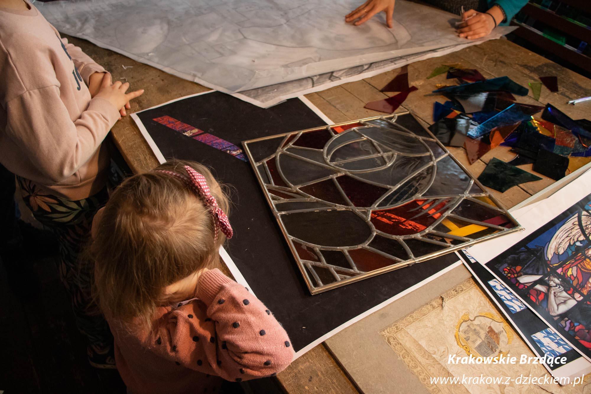 muzeum witrażu z dzieckiem