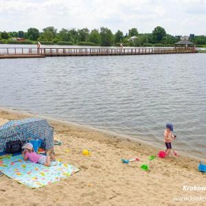 plaża w Januszowicach Słomniki