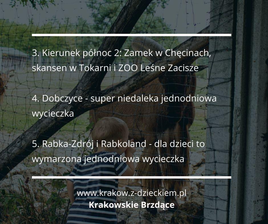jednodniowa wycieczka z dzieckiem poza Kraków