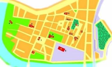 Kazimierz Map