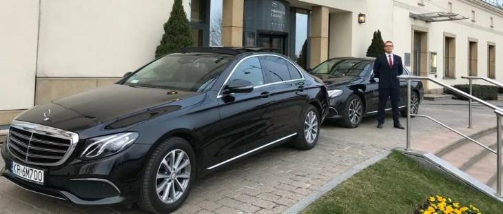 Mercedes transfer Krakow