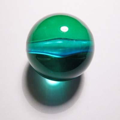 acryl rond groen blauw 24 mm