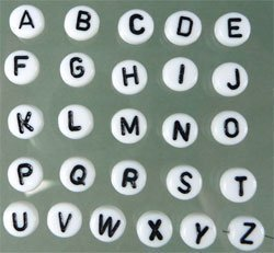 """letterkraal """"O"""""""