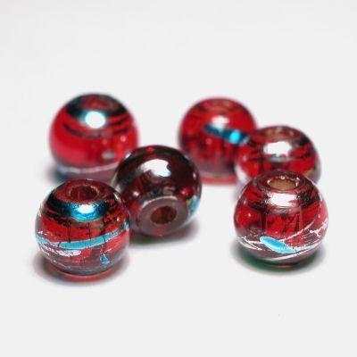 rond met streep rood 6 mm