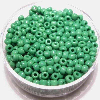rocailles opaak groen 2,6 mm