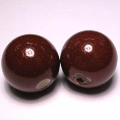 keramiek bruin 16 mm