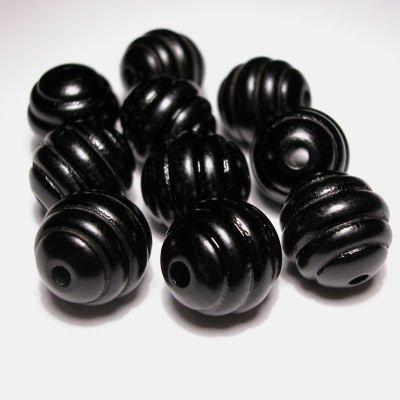 rond golf zwart 15 mm