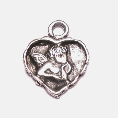 metalen hanger hart 14 mm