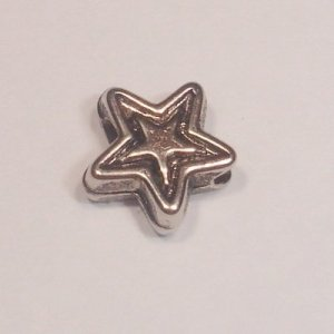 metal plated ster 6 mm