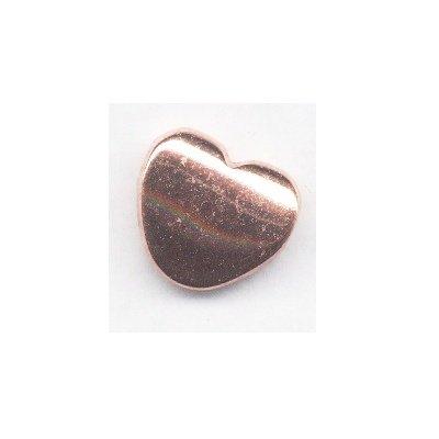 metalen kraal hart 20x17 mm