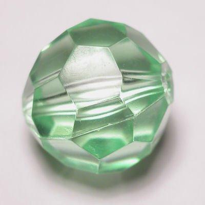 Kraal facet l.groen 18 mm