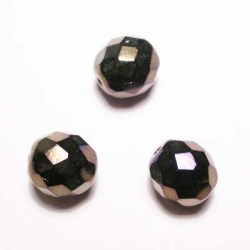 facet metalic paars 10 mm