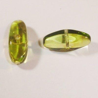 kraal ovaal olijf 9x19 mm