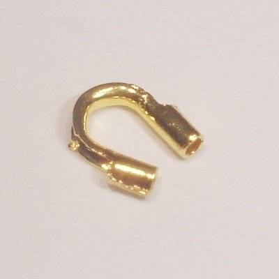 metalen wire gardian 5x4 mm goud