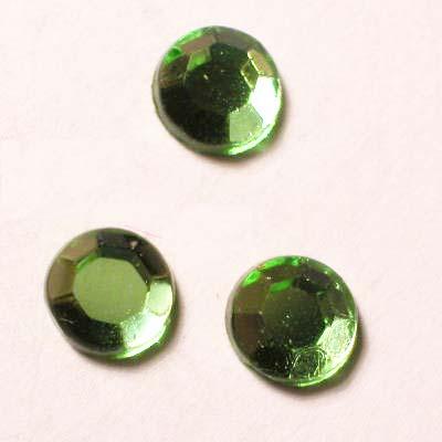 strass plaksteen kristal peridot 5 mm