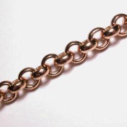 jasseron oud goud 9,5 mm, binnenmaat 6 mm