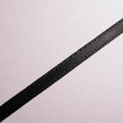 satijnlint 3 mm zwart