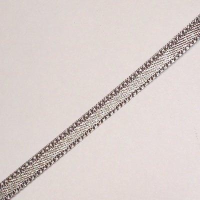 satijnlint 3 mm grijs