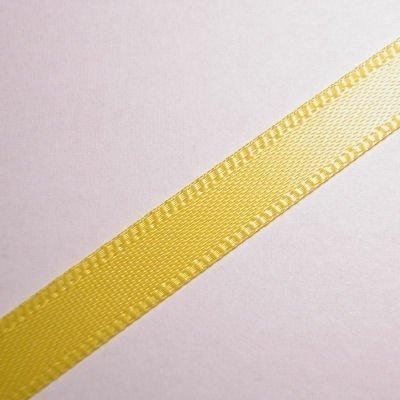 satijnlint 7 mm geel