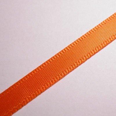 satijnlint 7 mm oranje