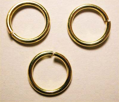 ring rond goud 7 mm, 1 mm dik