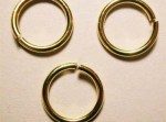 ring rond goud 10 mm, 1,2 mm dik