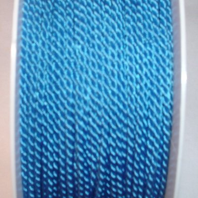 Deko-koord, 2 mm, turquoise