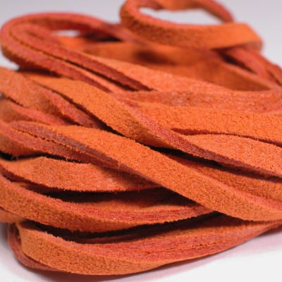 veter kunstsuede oranje 3 mm