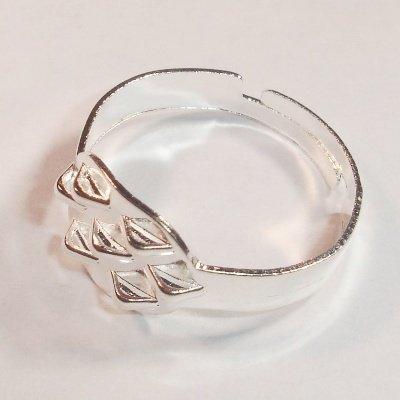verstelbare ring met oogjes