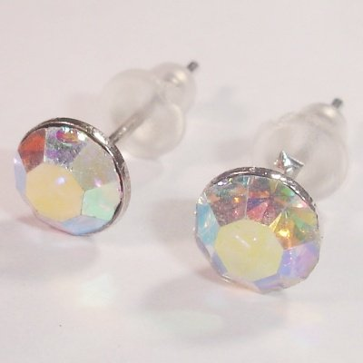 oorstekers kristal AB 6x16 mm