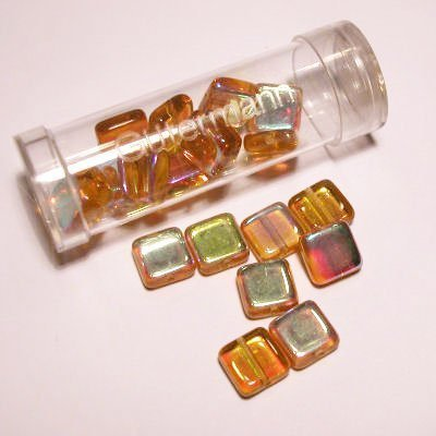 kwadraatparels 8 mm kleur 8940