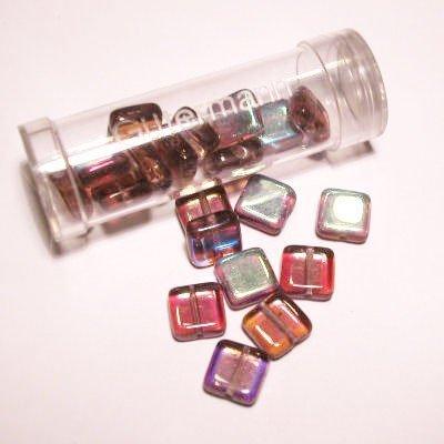 kwadraatparels 8 mm kleur 5560