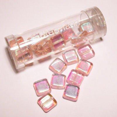 kwadraatparels 8 mm kleur 5185