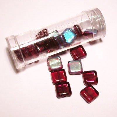 kwadraatparels 8 mm kleur 4395